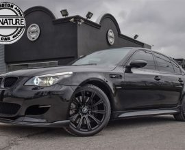 BMW, M5 - 2008 **ALL BLACK EVERYTHING**