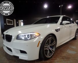 BMW, M5 - 2012 **SOLD*****IMMACULATE***WHITE ON RED**
