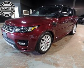 Land Rover, Range Rover Sport - 2016 AUTOBIOGRAPHY*V8*SC*NAVI*PANO*2-TONE*