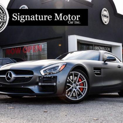Mercedes-Benz, AMG GT S - 2016 **SOLD**STUNNING**SMATTE GREY**